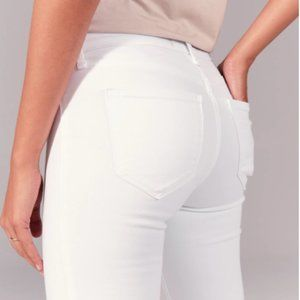 *NWT* A&F | white skinny jeans size 27/4